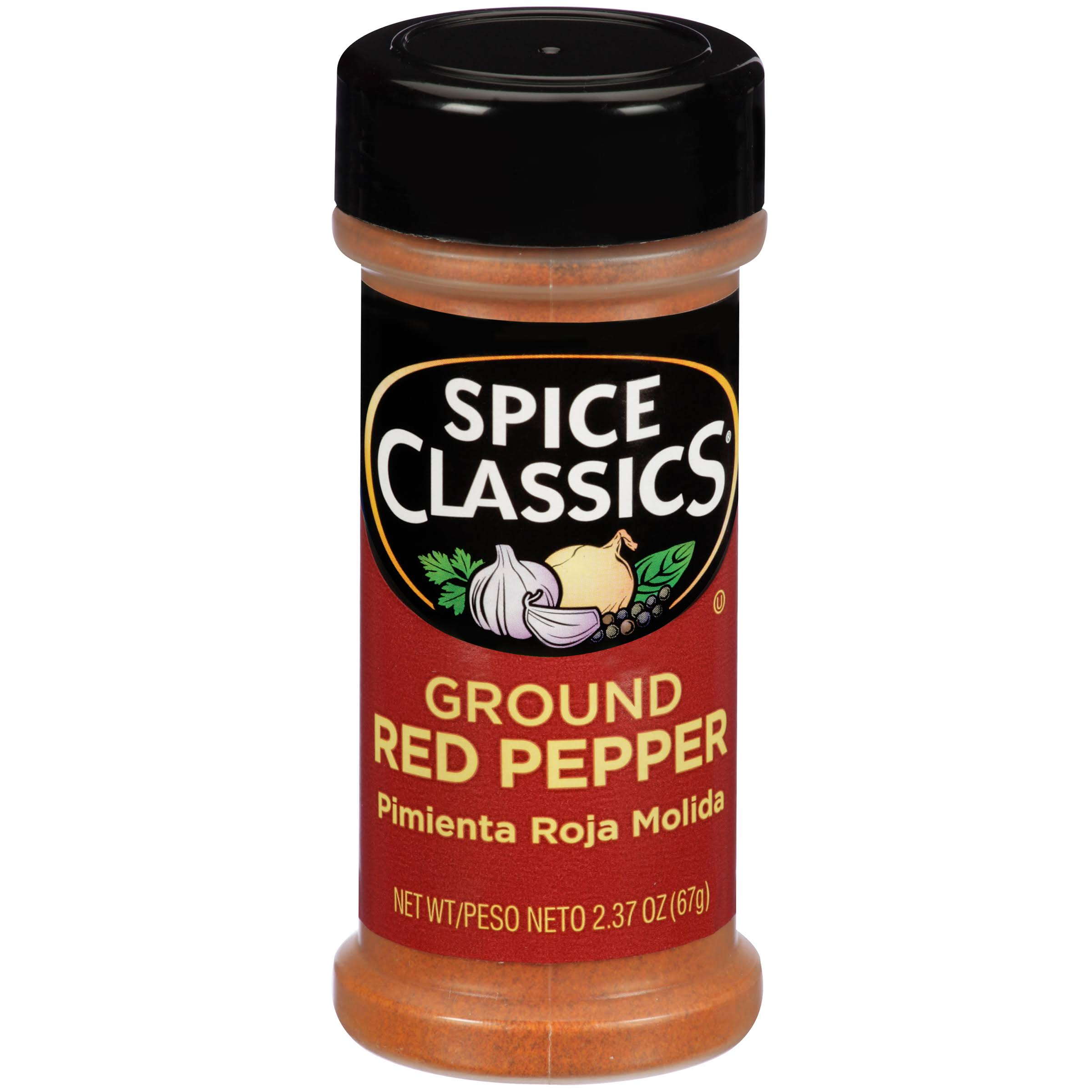 Spice Classics Ground Red Pepper, 2.37 oz