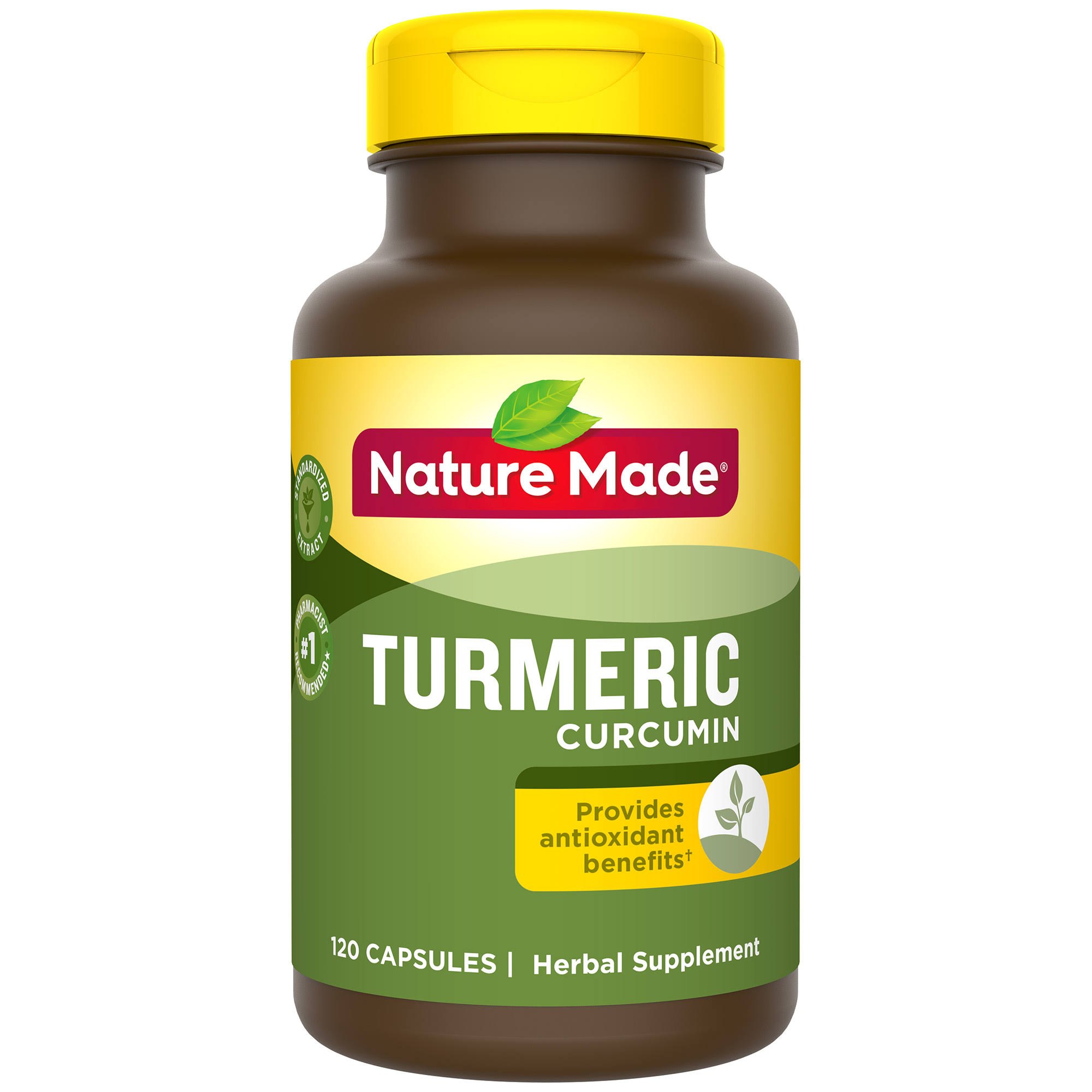 Nature Made Turmeric Curcumin Supplement - 500mg, 120 Count