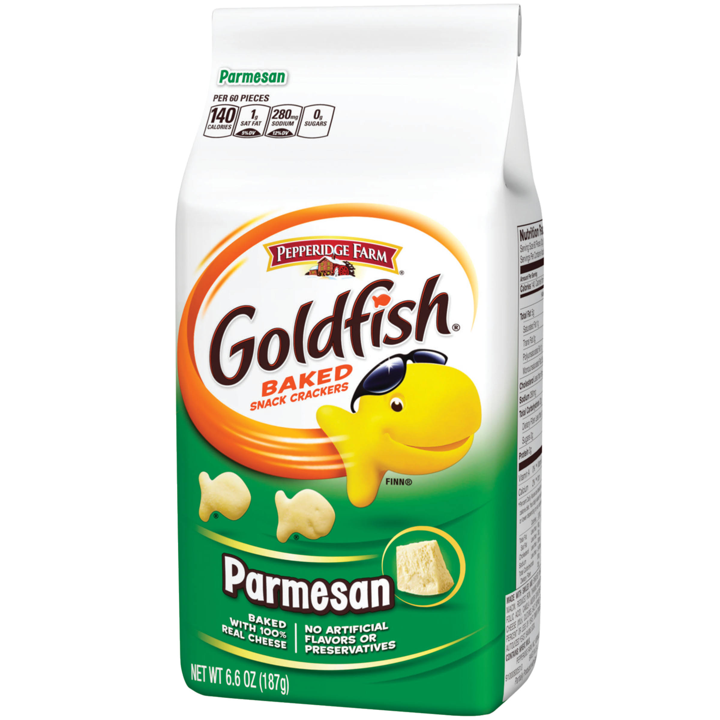 Pepperidge Farm Goldfish Baked Snack Crackers - Parmesan, 187g