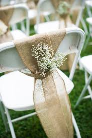 Shabby Chic Wedding Decorations Uk by The 25 Best Wedding Chair Decorations Ideas On Pinterest