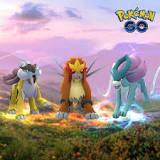 Pokemon GO, スイクン, エンテイ, ライコウ, Niantic, Inc., 劇場版ポケットモンスター ミュウツーの逆襲