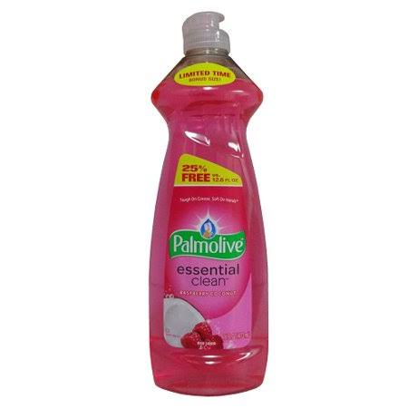 Case of Palmolive Essential Clean Raspberry Coconut Scented Dish Liqui