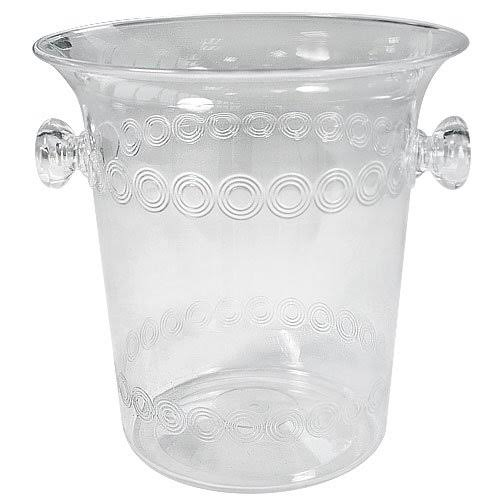 Party Dimensions 1 Count Plastic Ice Bucket - Clear, 4qt