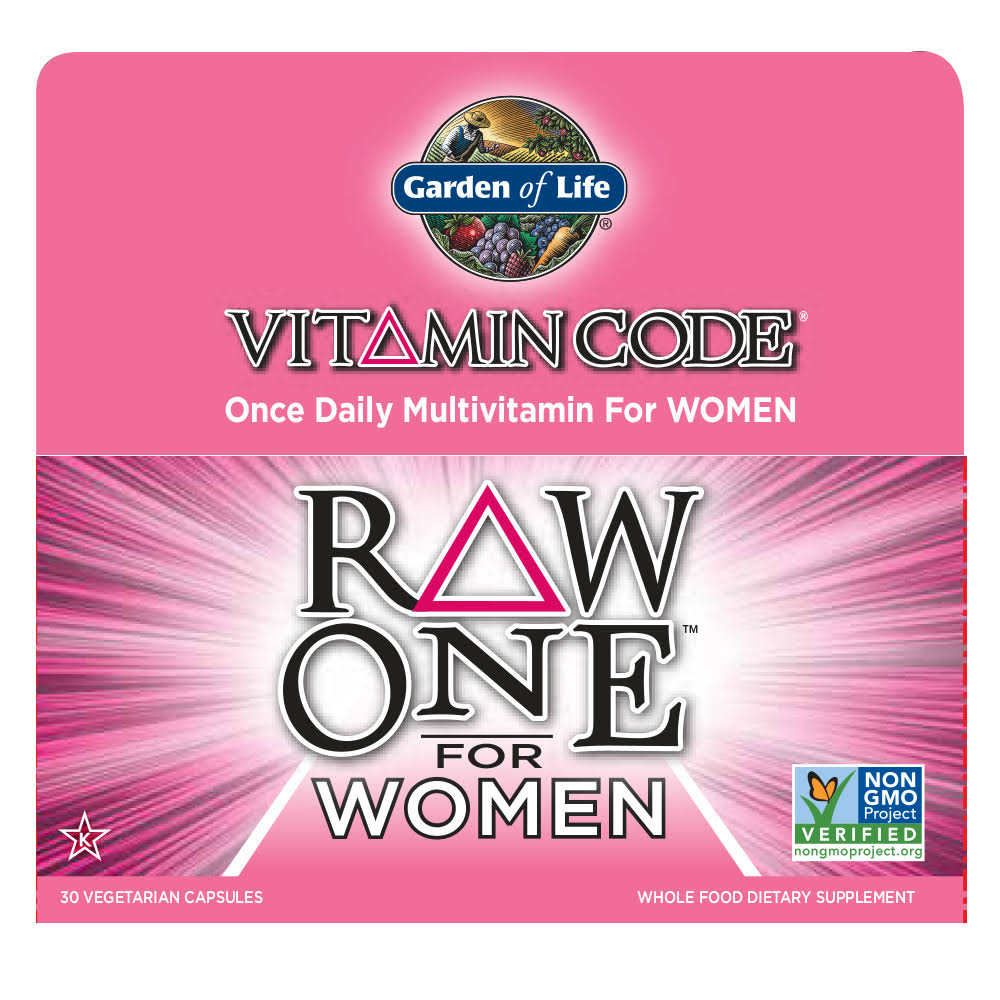 Garden Of Life Raw One For Women - 30 Capsules