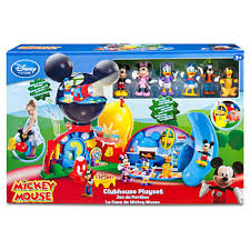 Mickey Mouse Flip Open Sofa Uk by Amazon Com Disney Exclusive Mickey Mouse Clubhouse Playset Toys