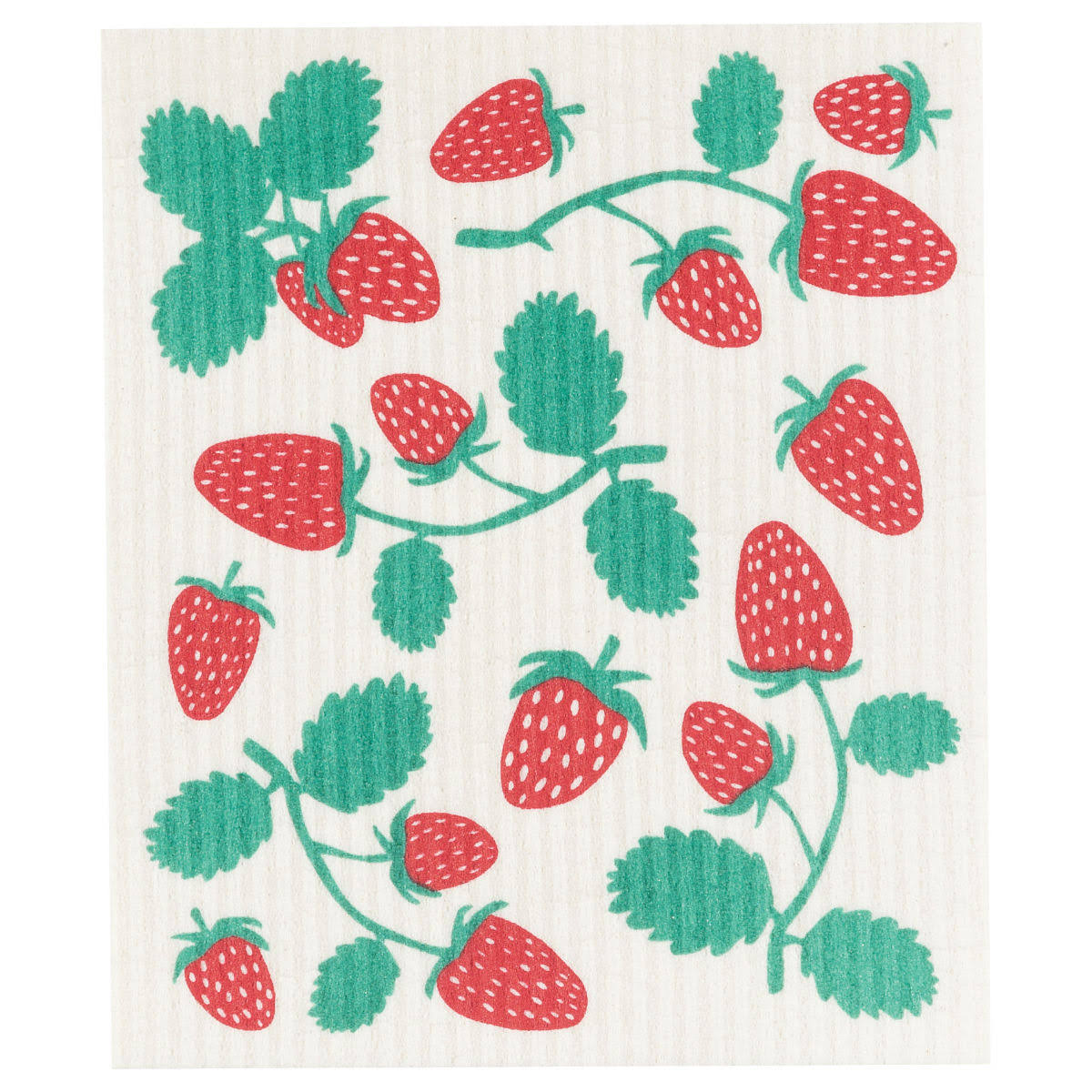 Now Designs Strawberries Swedish Dishcloth