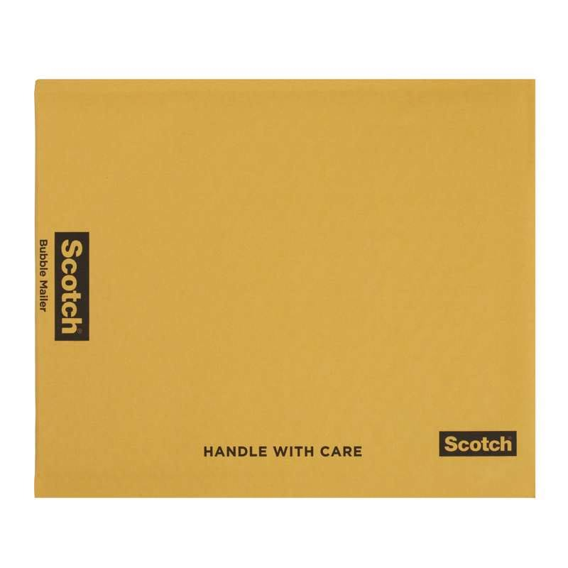 3M Scotch Bubble Mailer 7972, 7.25 in x 11.25 in Size #1