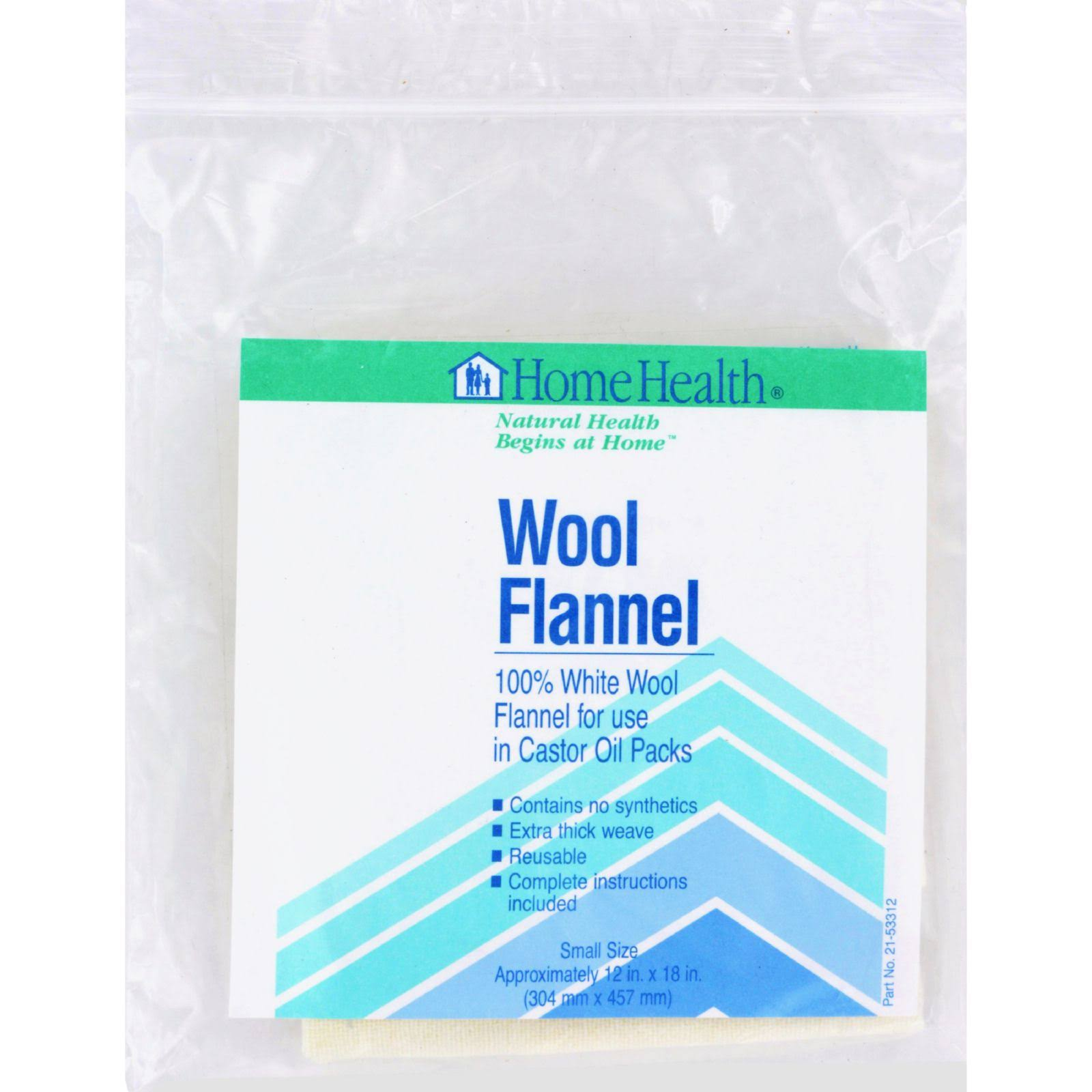Home Health - Wool Flannel Small - 1 Cloth