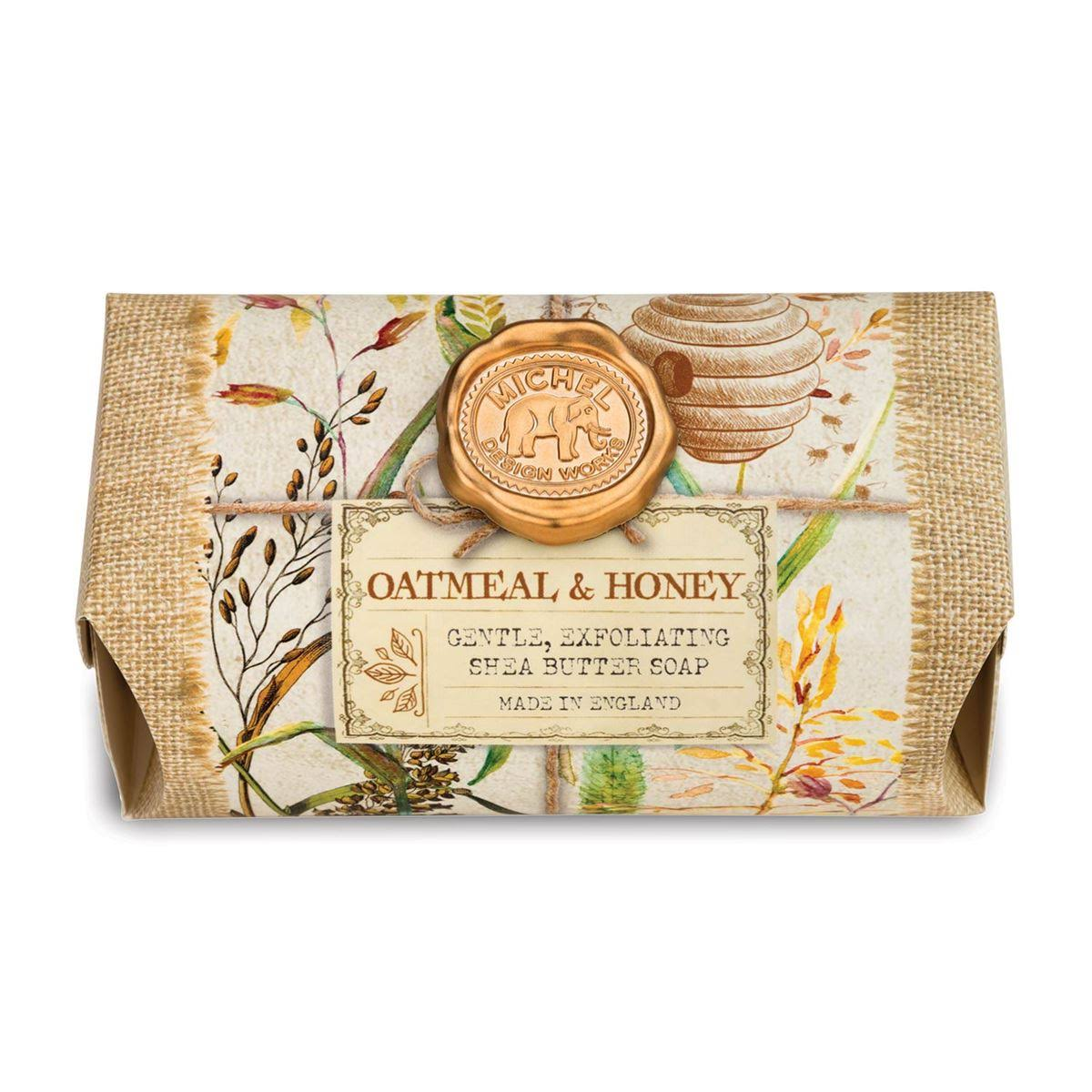 Michel Design Works - Oatmeal & Honey - Large Bath Soap Bar