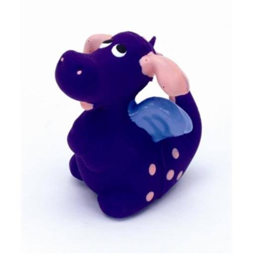 Coastal Pet Products Latex Dragon - Purple, 3""
