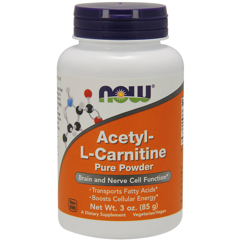 Now Foods Acetyl-L Carnitine - 3 Oz