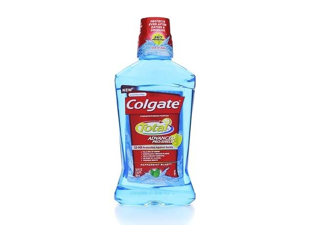 Colgate Total Pro-Shield Mouthwash - Peppermint, 500ml