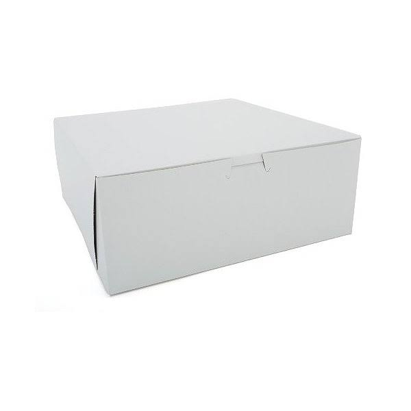 Southern Champion White Cake / Bakery Box - 10in x 10in x 4in