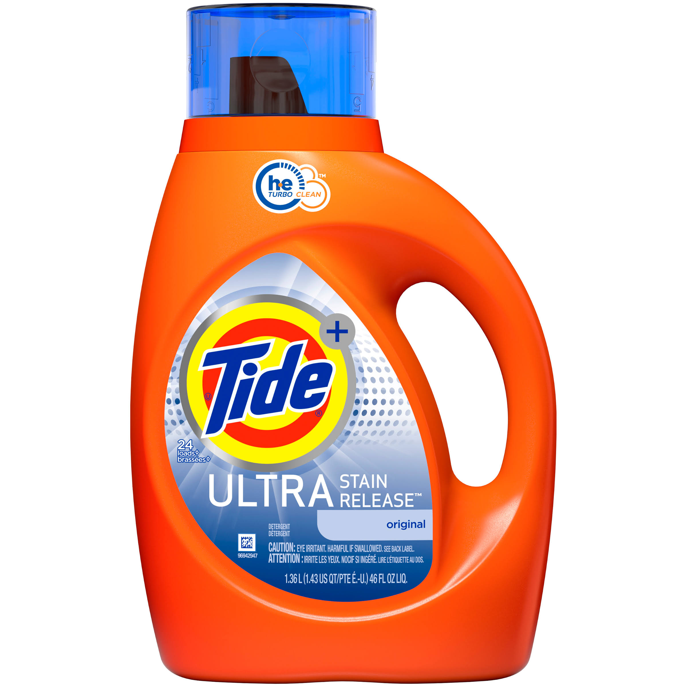 Tide Liquid Laundry Detergent - Ultra Stain Release, 46oz