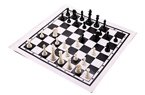 Classic Games Roll Up Tournament Chess Set