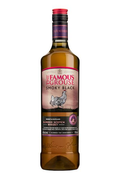 The Famous Grouse Whisky, Scotch, Smoky Black, Blended - 750 ml
