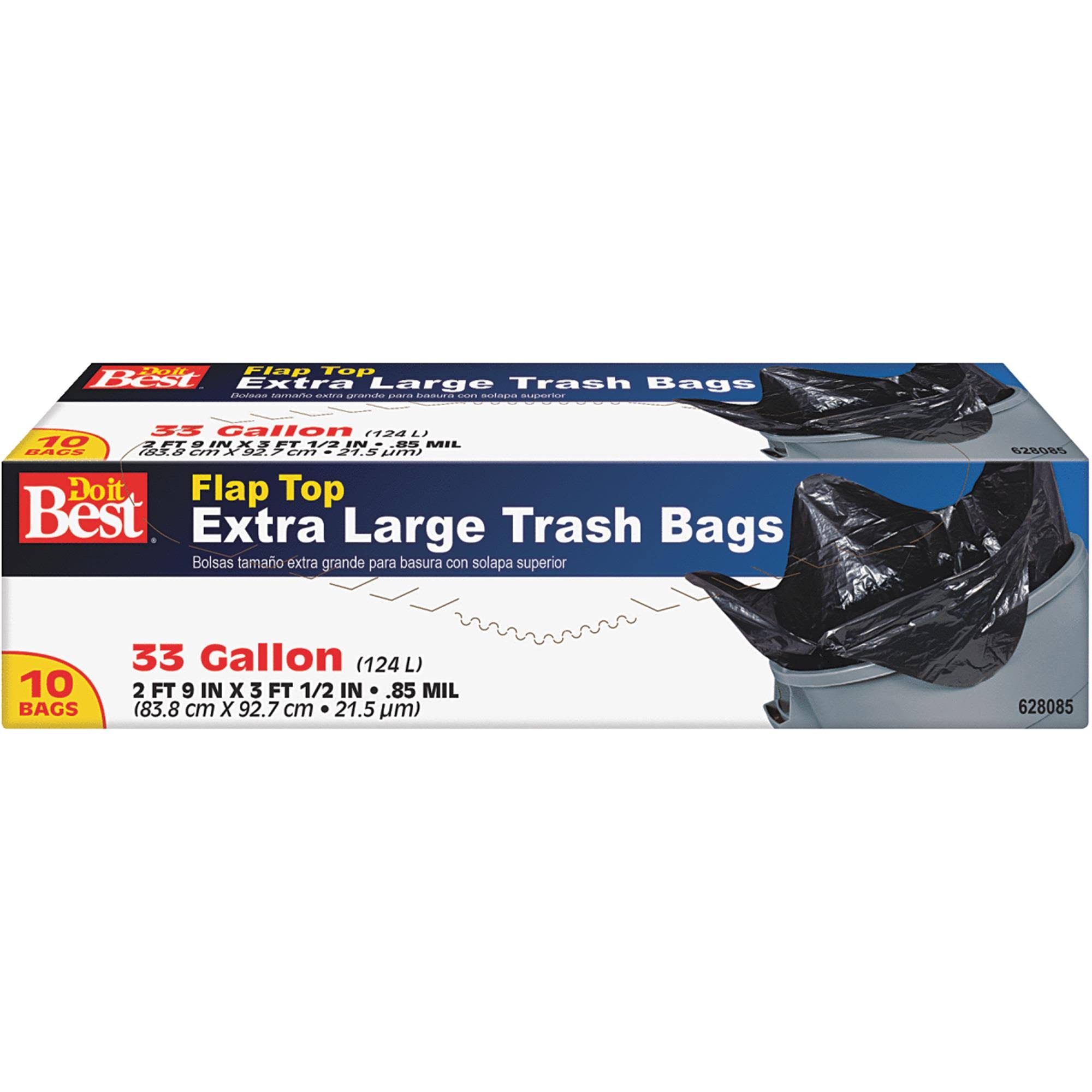 Do It Best Twist Tie Trash Bags - X-Large, 10 Bags