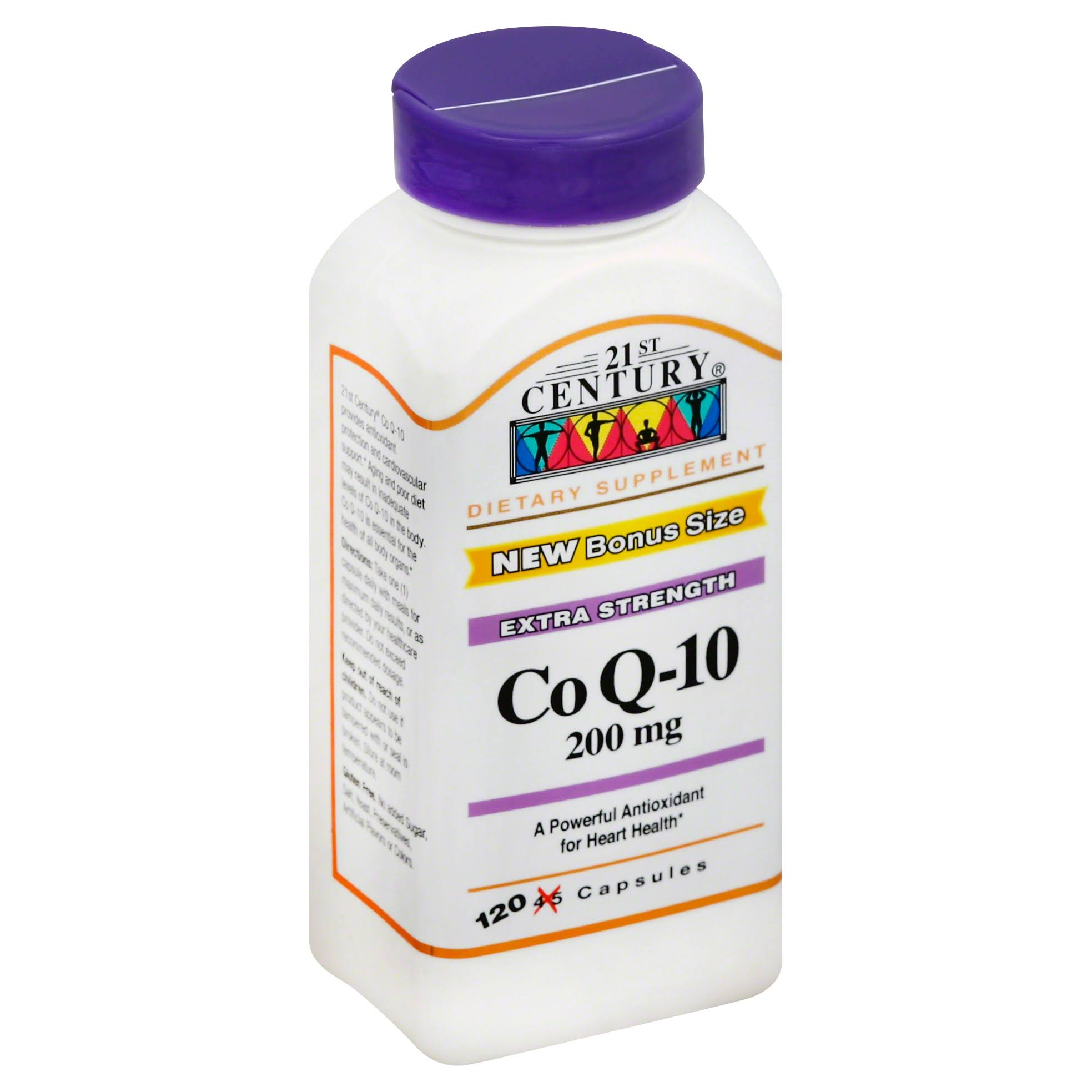 21st Century CoQ10 Dietary Supplement - 200mg, 120ct
