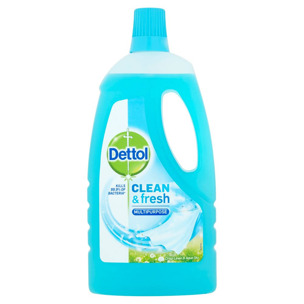 Dettol Clean & Fresh Multipurpose Crisp Cleaner - Linen & Aqua Sky, 1l