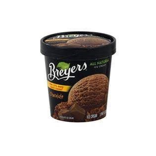 Breyers All Natural Chocolate Ice Cream