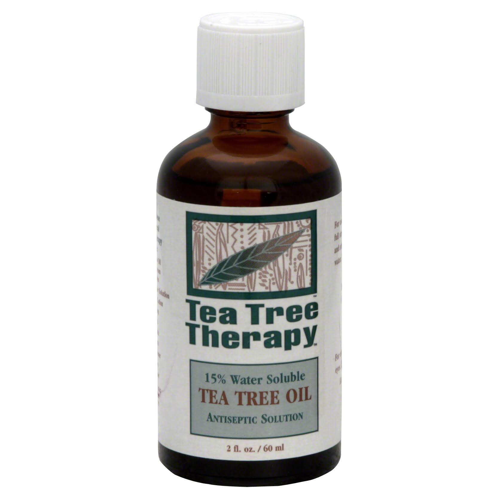 Tea Tree Therapy 0104372 Water Soluble Tea Tree Oil - 60ml