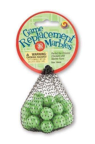 Mega Marbles Replacement Game - Green, 30 Pack