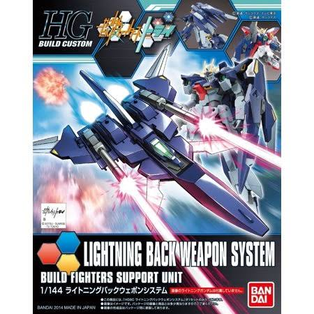 Bandai Gundam Build Custom HGBC Lightning Back Weapon System Hg 1/144 Model Kit