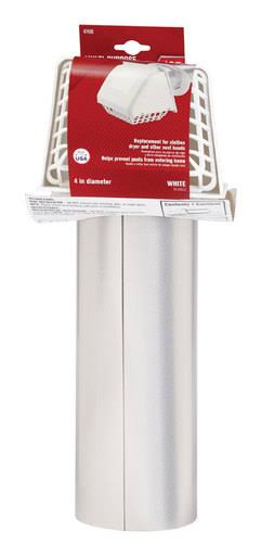 "Ace Dryer Vent Hood 4"" White"
