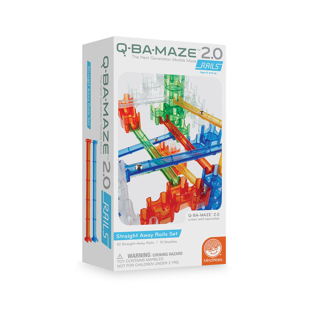 MindWare Q-BA-MAZE 2.0 Starter Sets Rails (Add-On Set)