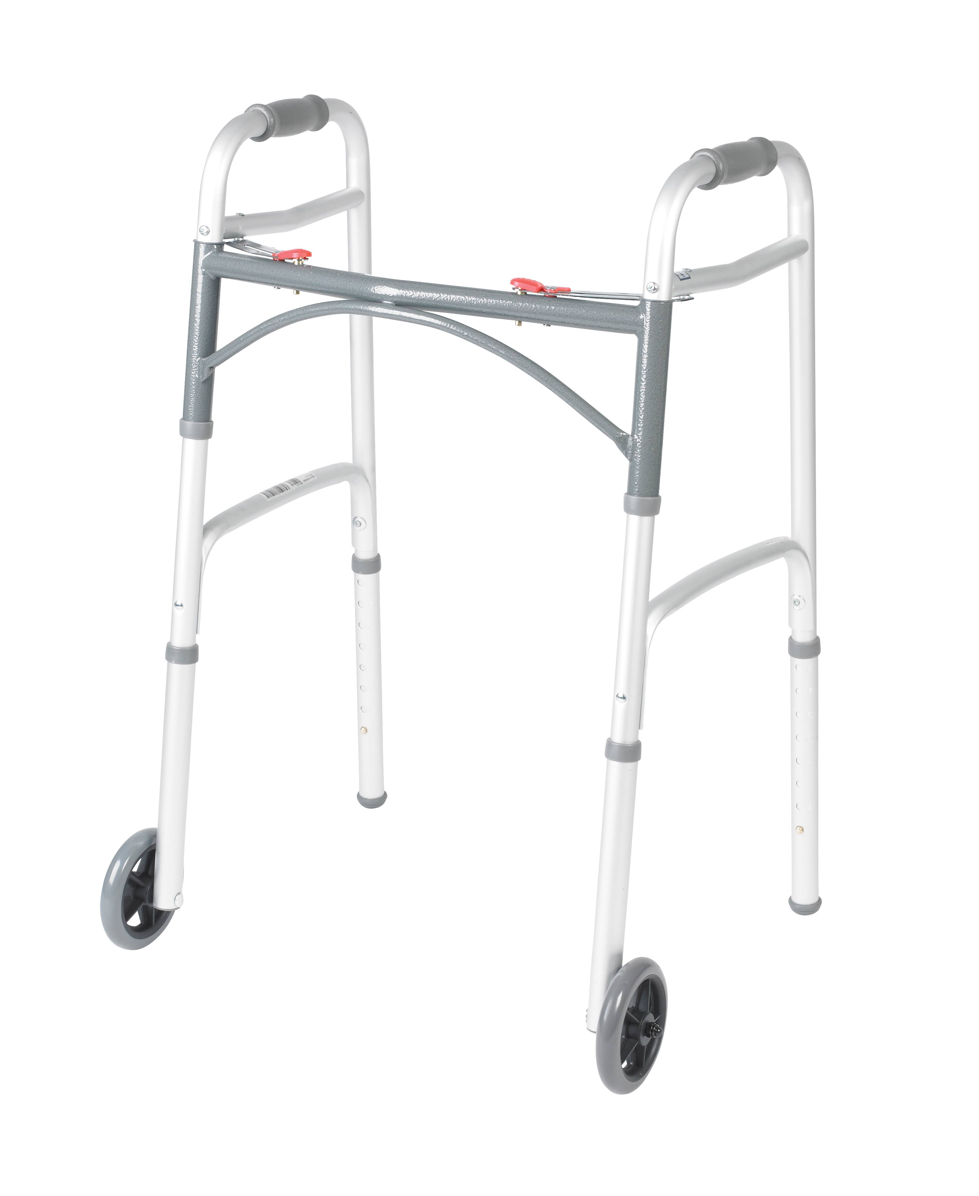 Drive Medical Deluxe Folding Heavy Duty Walker