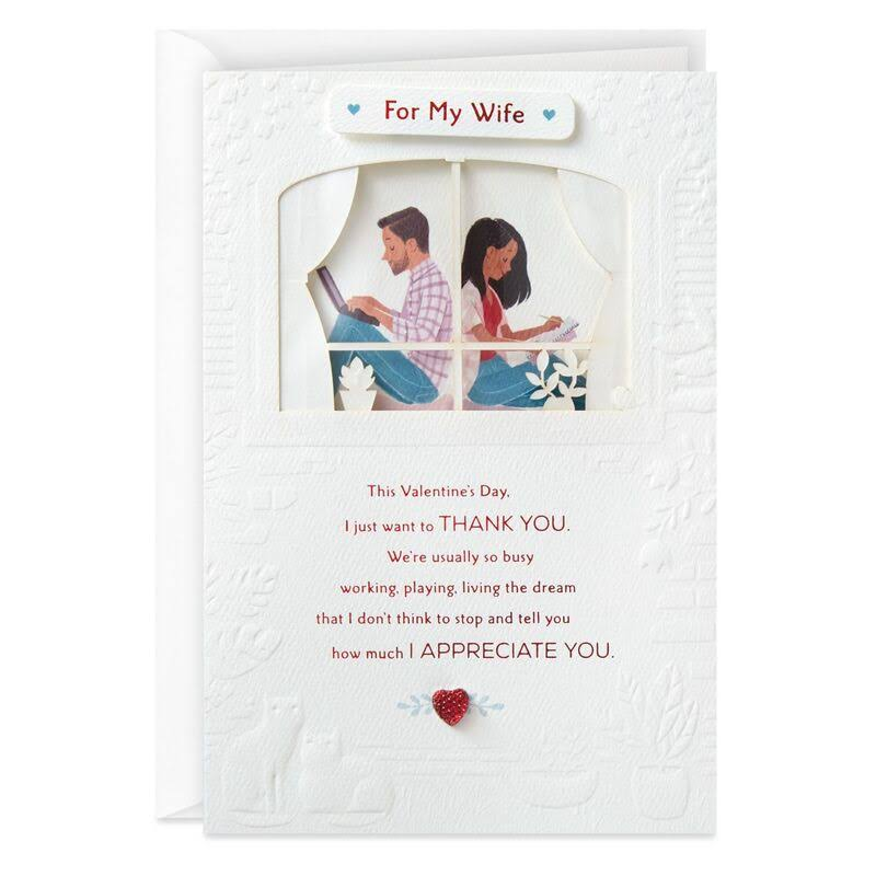 You're The One for Me Valentine's Day Card for Wife