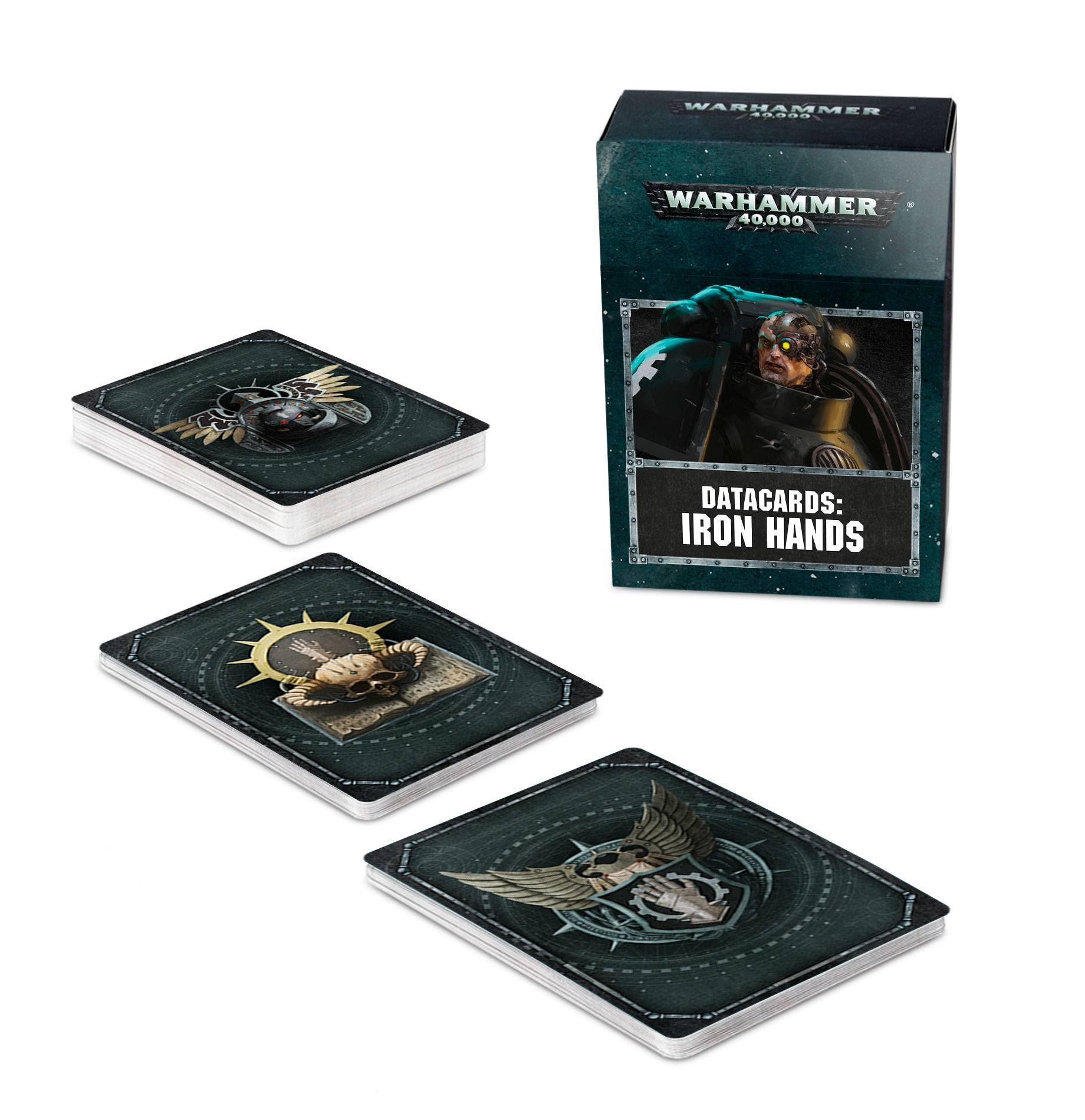 Games Worksops Iron Hands Data Cards