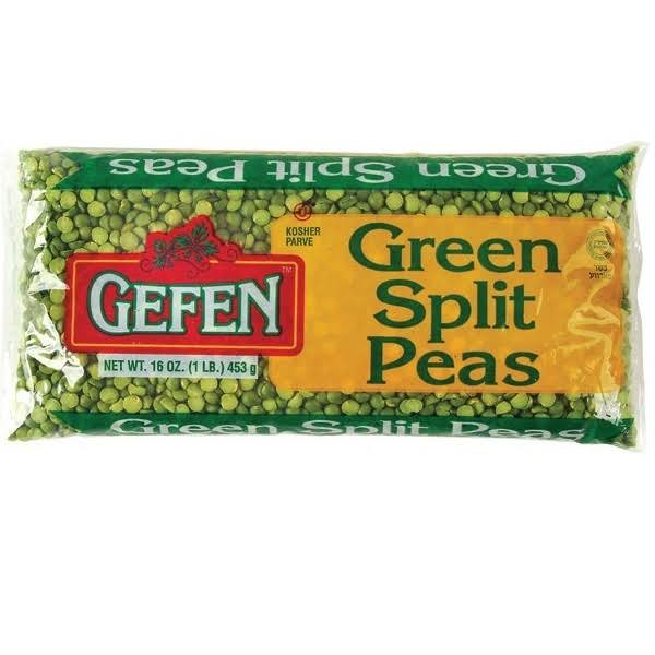 Gefen Green Split Peas - 16oz