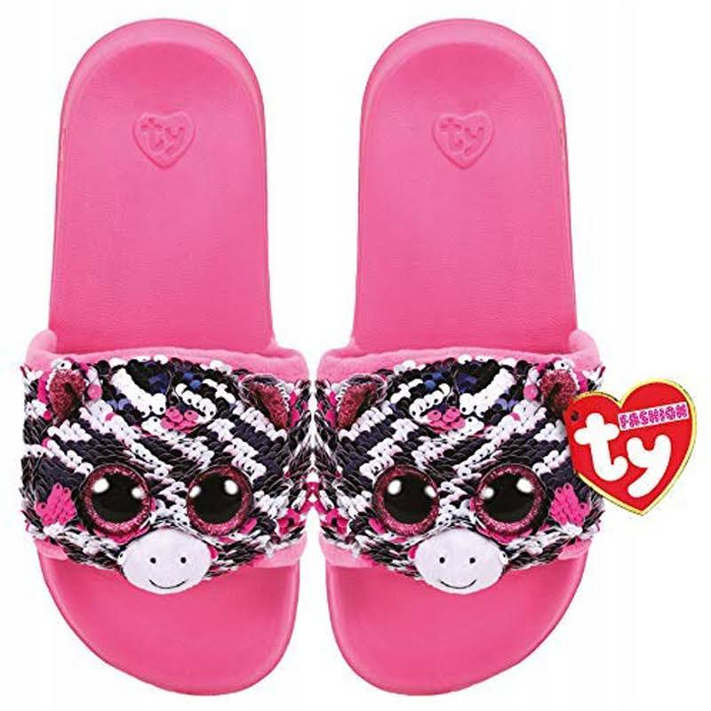 Zoey - Sequin Slides Medium - Ty Fashion