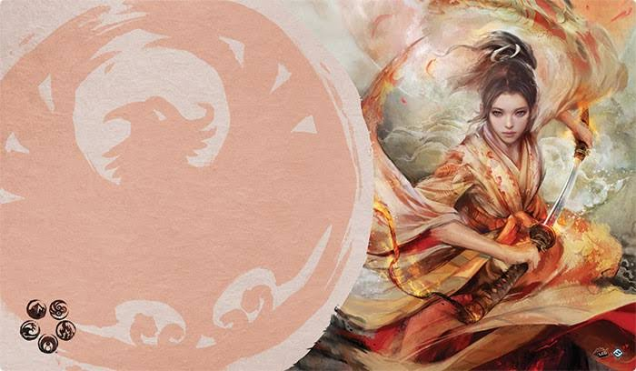 Legend of the Five Rings: the Soul of Shiba Playmat - Fantasy Flight Games