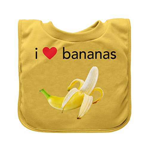 Green Sprouts Pull Over Food Bib Yellow Banana