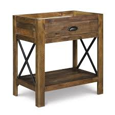 Sears Canada Patio Umbrella by Magnussen Home River Ridge Wood 1 Drawer Open Nightstand B2375