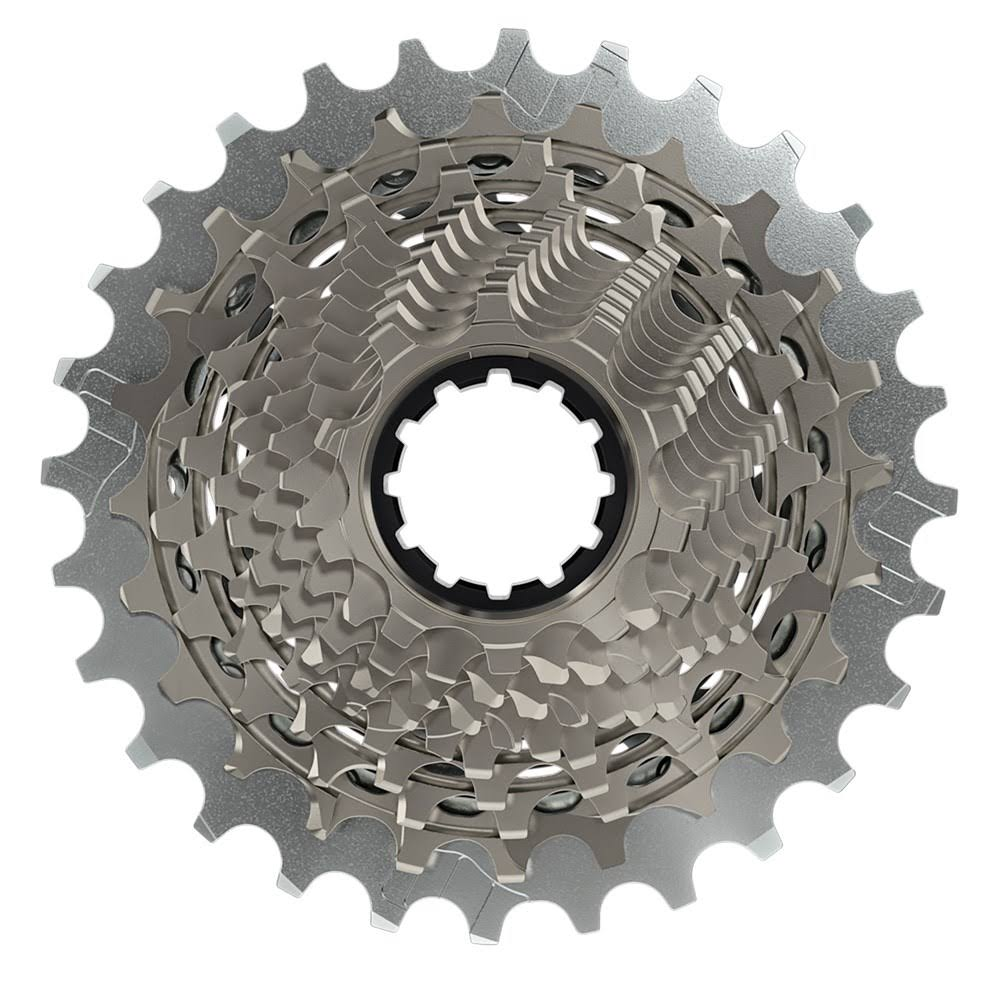Sram Red AXS Xg-1290 Cassette - Silver, 12 Speed, 10t to 28t