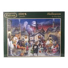 Halloween Express Charlotte Nc by Amazon Com Jumbo Halloween Jigsaw Puzzle 1000 Piece Toys U0026 Games