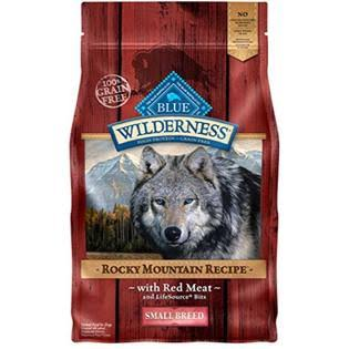 Blue Buffalo Wilderness Rocky Mountain Recipe Dog Food - Red Meat, Small Breed