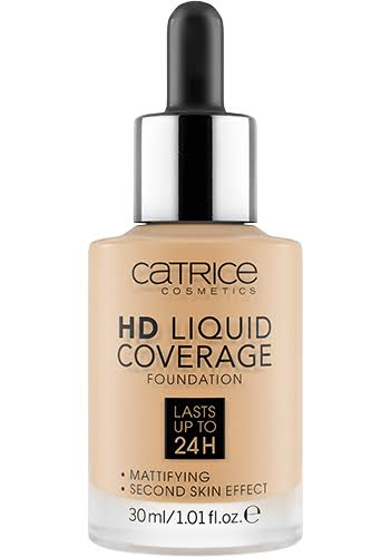 Catrice Make-up HD Liquid Coverage Foundation - 036 Hazelnut Beige, 30ml