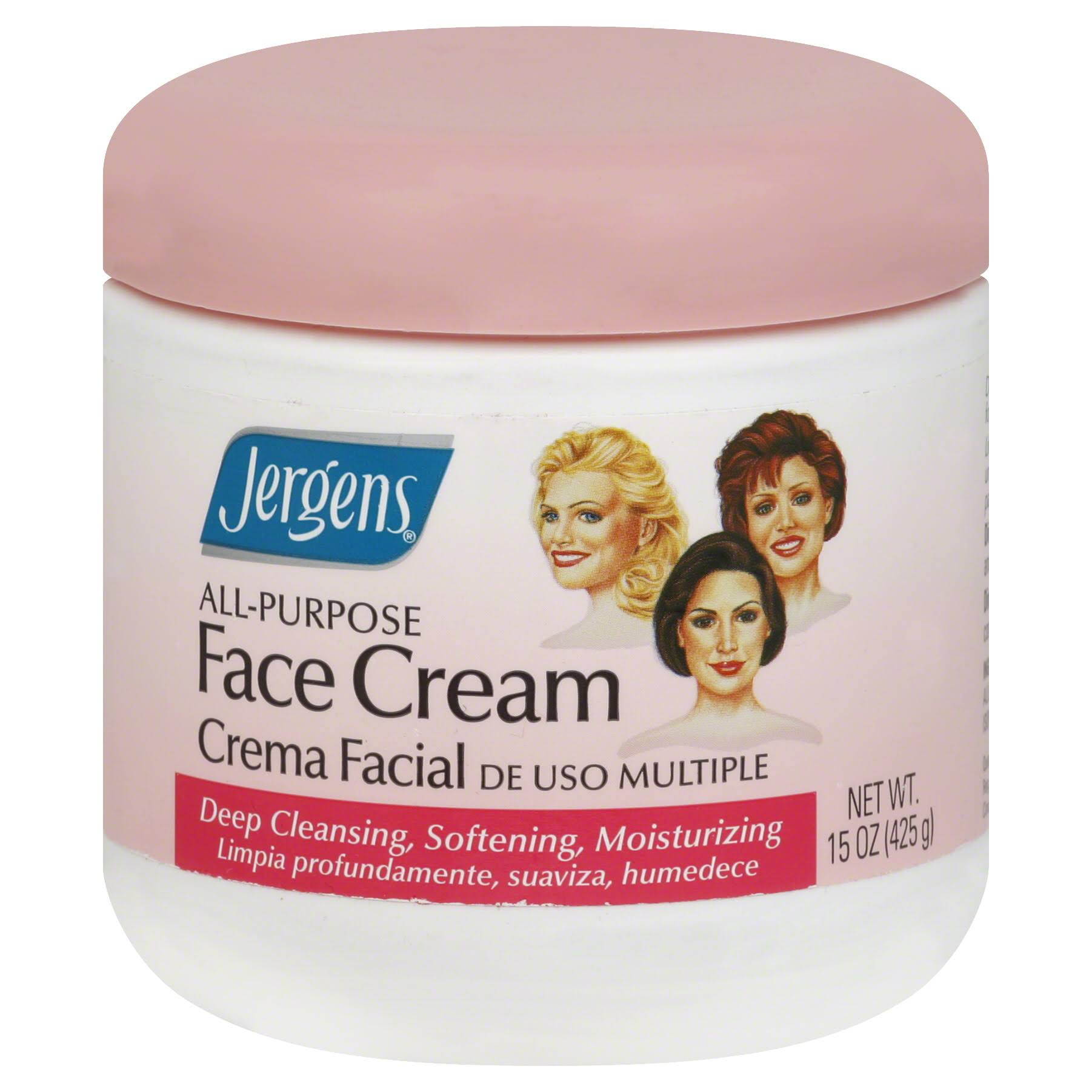 Jergens All-Purpose Face Cream - 15oz