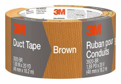 "3M Duct Tape - Brown, 1.88"" x 20yd"
