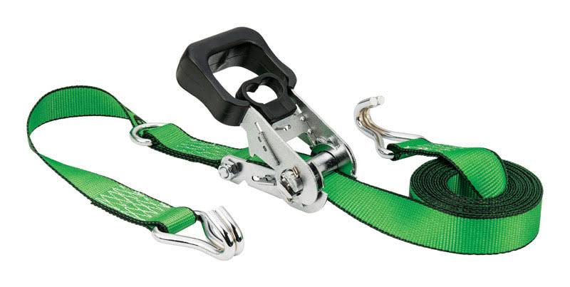 "Keeper Tie Down Strap - Green, 1.5"" x 16'"