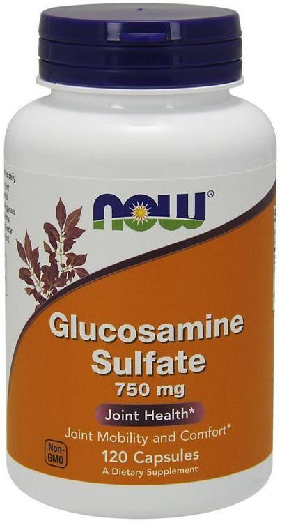 Now Foods Glucosamine Sulfate Supplement - 750mg, 240 Count
