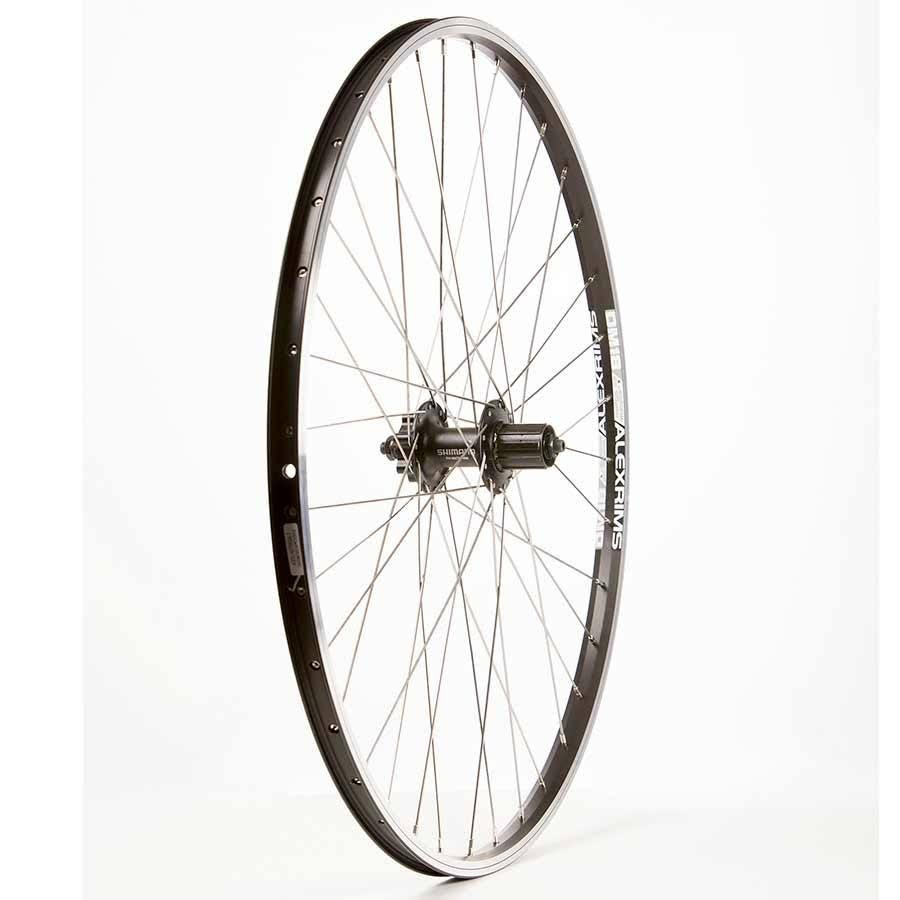 The Wheel Shop Alex DM-18/Shimano FH-M475 700c Rear - Black - 700c