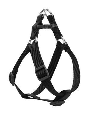 Lupine Step in Dog Harness - Black, 3/4""