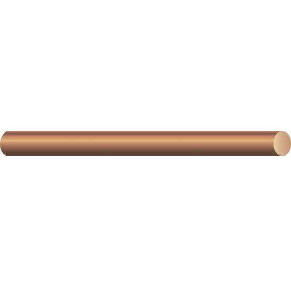Southwire 10644302 Bare Copper Solid Wire, 200'