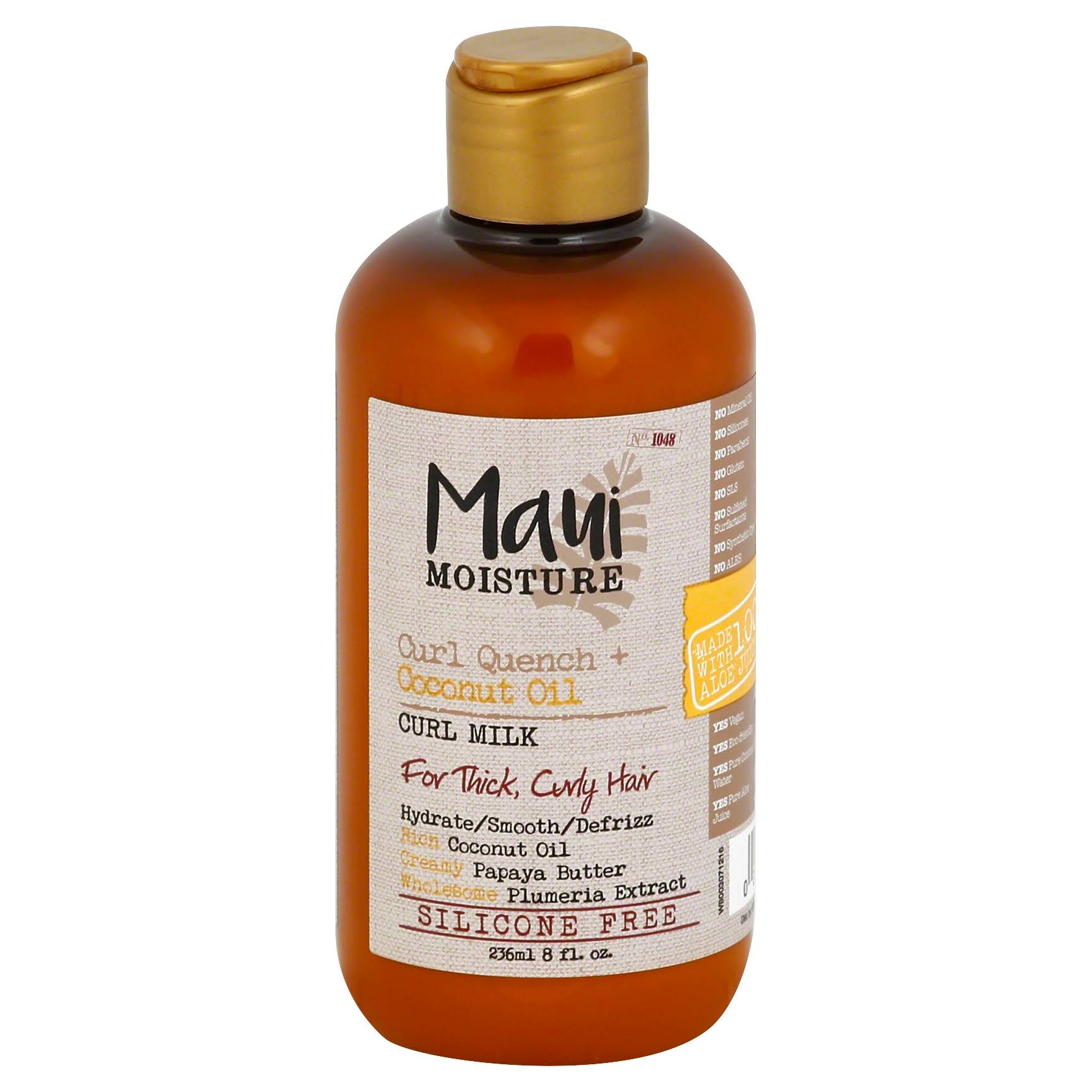 Maui Moisture Curl Quench Coconut Oil Curl Milk - 8oz