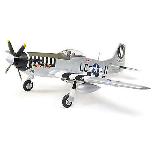 E-flite P-51D Mustang 1.2m BNF Basic w/AS3X and SS EFL8950